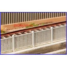180428 FALLER - Staccionata in cemento bianco FS