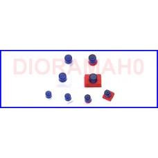 050142 HERPA - Lampeggianti blu con supporto 1:87