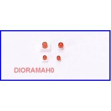 050159 HERPA - Lampeggianti arancioni con supporto 1/87