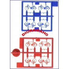 180901 FALLER - Set otto biciclette