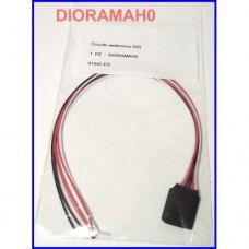 Circuito elettronico D55 - luci di direzione bicolore per locomotori analogici - H0