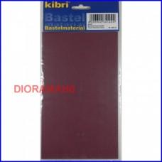34122 KIBRI - Muro mattoni rossi H0 - Foglio PVC