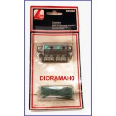 503065 LIMA - Confezione pulsanti per comandare due scambi elettrici