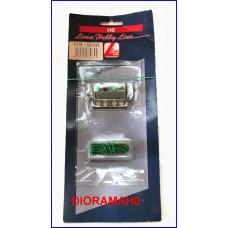 L603065 Pulsante per comando scambi elettrici in Nichel Silver HOBBY LINE