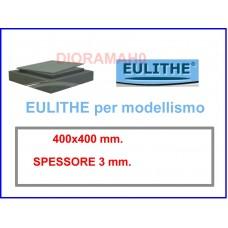 EULITHE - Foglio 400x400 spessore  3 mm. - DioramaH0