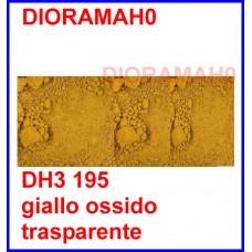 Pigmento in polvere - Giallo ossido naturale 30 ml