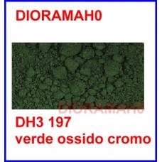 Pigmento in polvere - Verde ossido cromo 30 ml