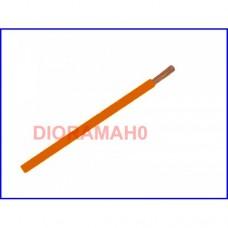 Cavo unipolare sezione 0,22 mmq ARANCIONE 5 mt