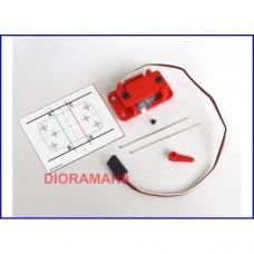 55272 PIKO - Servomotore per scala H0 TT N Compatibile con altre marche