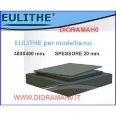 EULITHE - Foglio 400x400 spessore 20 mm. - DioramaH0