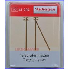 41204 AUHAGEN - Pali del telegrafo 12 PZ in scala H0