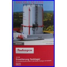 12216 AUHAGEN - Cisterna raffineria accessorio ferroviario in scala H0