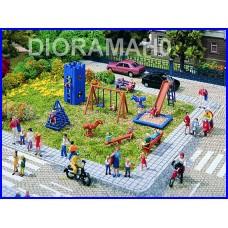 43665 Vollmer - Parco giochi in scala H0