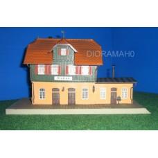 190188/1 FALLER - Stazione ferroviaria Oberndorf - invecchiata H0