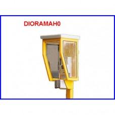 5445 Brawa - Cabina telefonica illuminata