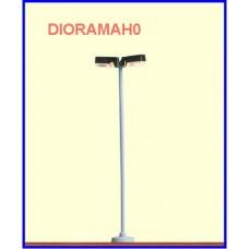 84060 Brawa - Lampione doppio moderno a LED