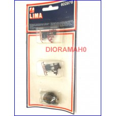 602976 LIMA - Set elettrificazione pantografi con commutatore