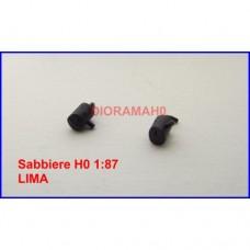 00 - SAB - Sabbiera per locomotive E 444 - E646 - E645 - E656 Lima e Rivarossi