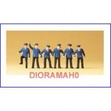 14012 PREISER - Set personaggi per stazione ferroviaria