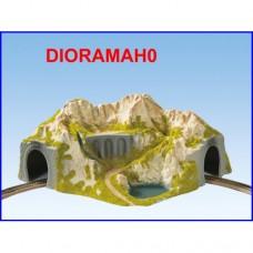 05130 NOCH - Tunnel con diorama - curva R 1 e 2