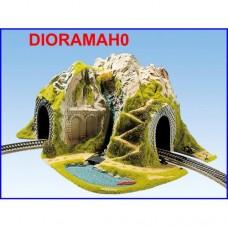 05170 NOCH - Tunnel con diorama - curva R 1 e 2