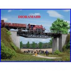 11365 AUHAGEN - Ponte a traliccio - arcata in ferro - DioramaHO