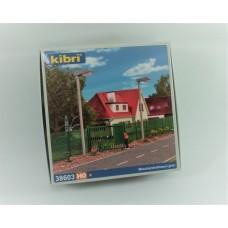 38603 KIBRI - Recinzione moderna completa verde