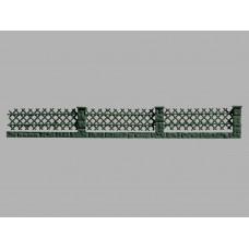 45011 VOLLMER - Staccionata basamento muretti cancellata 1/87