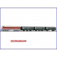 59008 PIKO - Start set Digitale treno passeggerI DR BR 119 con tre carrozze EP. IV