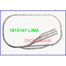 00021 LIMA - Circuito Classic 181X141 cm