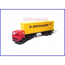 """60 0807 Camion container """"DUNLOP"""" Lima"""