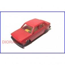 60 0823 - FIAT 131 Colore Rosso - LIMA